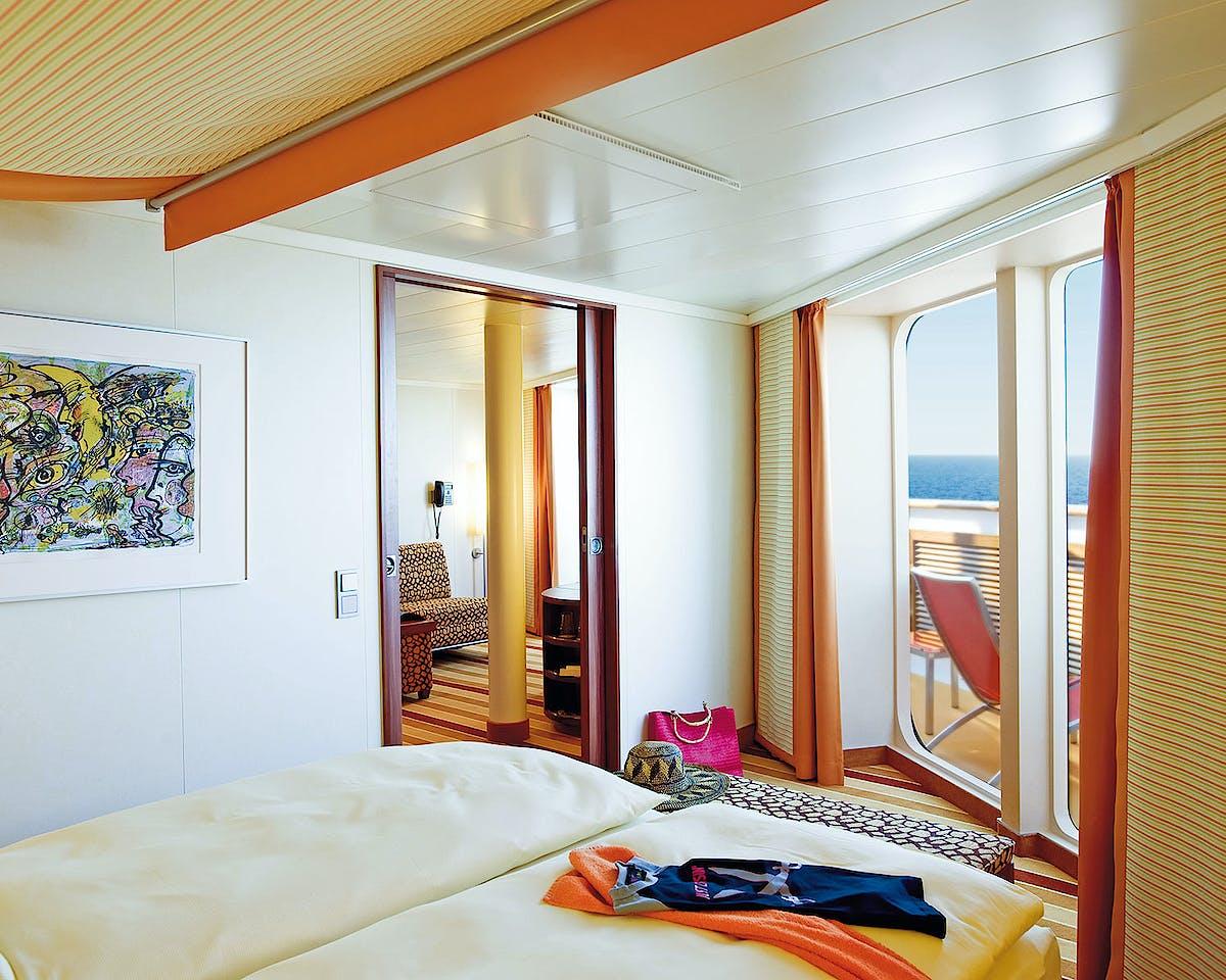 AIDAdiva, AIDAbella, AIDAluna Premium Suite