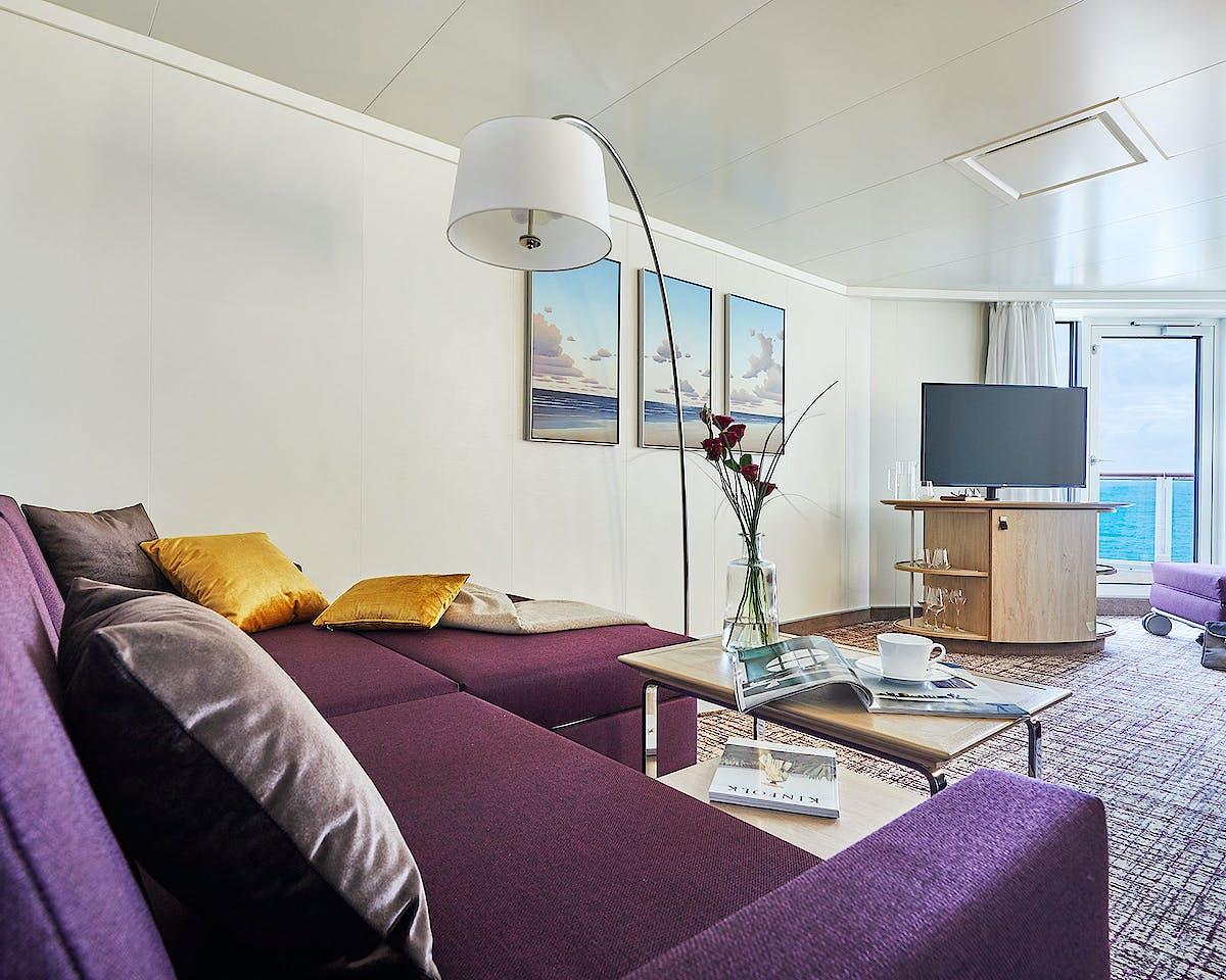 AIDAnova Premium Suite Innenbereich