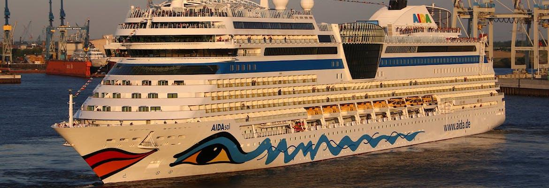 Winter 2020/21 Besttarif: AIDAsol - Metropolen ab Hamburg oder Rotterdam