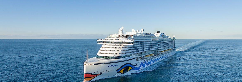 Winter 2021/22 Besttarif: AIDAprima - Perlen am Mittelmeer
