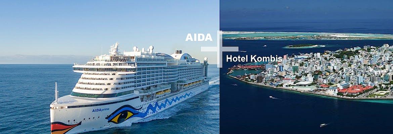 AIDA + Hotel Kombis Orient & Malediven mit AIDAprima