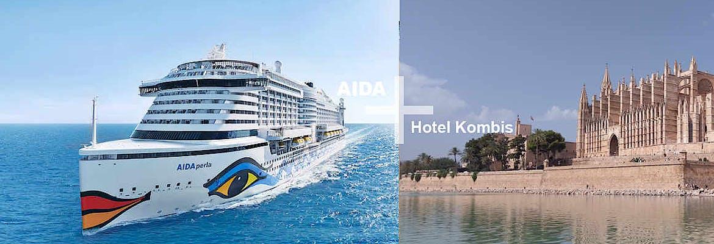 AIDA + Hotel Kombi Spanische Küste mit AIDAperla