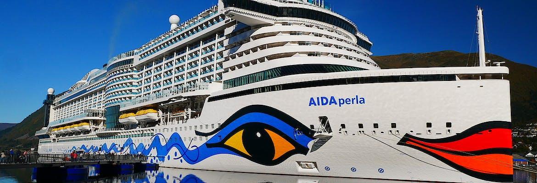 AIDA Sonderpreisangebot inkl. Überraschung - AIDAperla - Metropolen & Norwegen