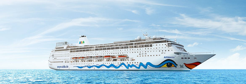 Transreisen 2021/22 Besttarif: AIDA Selection - AIDAmira - Von Korfu nach Mallorca