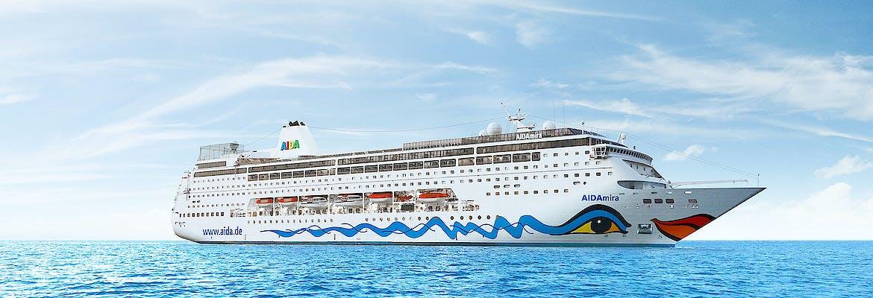 Transreise 2020 - AIDA Selection - AIDAmira - Weltenbummler von Korfu nach Kapstadt