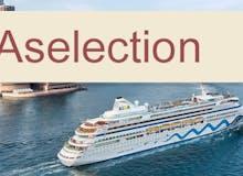 AIDA Selection - AIDAaura - Weltreise 3 Teilstrecken