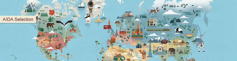 Grenzenlos reisen und mit AIDA Selection Land und Leute erleben