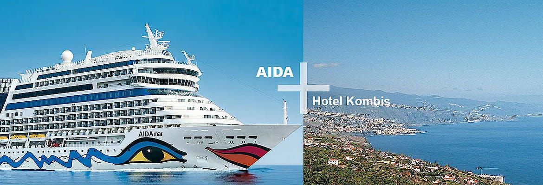 AIDA + Hotel-Kombis Kanaren - 7 Tage AIDAmar + 7 Tage Lopesan Costa Meloneras