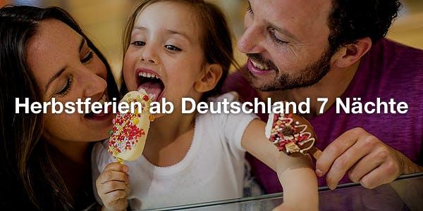 Herbstferien ab Deutschland 7 Nächte