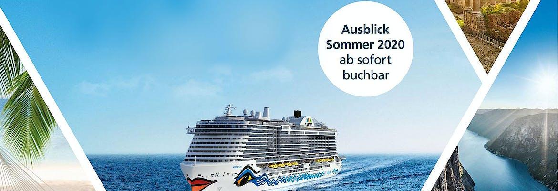 AIDA Katalog Sommerreisen 2020