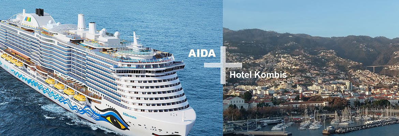 AIDA + Hotel-Kombis Kanaren - 7 Tage AIDAcosma + 7 Tage Parque Tropical