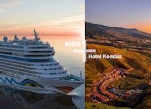 AIDA + Hotel-Kombis Kanaren - 7 Tage AIDAmar + 3 Tage Lopesan Baobab Resort