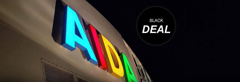 AIDA Black Week Angebote - ab sofort buchbar