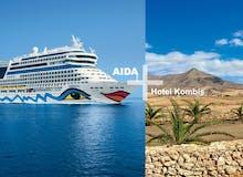 AIDA + Hotel-Kombis Kanaren - 7 Tage AIDAblu + 3 Tage Suitehotel Playa del Inglés