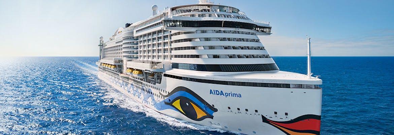 Winter 2019/20 - AIDAprima - Von Mallorca nach Abu Dhabi oder Dubai inkl. Frühbucher-Ermäßigung