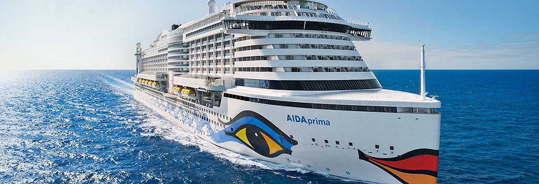 Kreuzfahrten mit AIDAprima