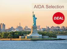 VARIO Exklusiv - AIDA Selection - AIDAvita - Von Montreal nach New York inkl. Flug