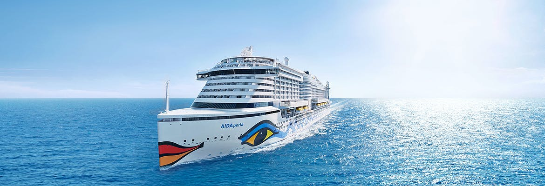 Transreise 2019/20 - AIDAperla - Von Hamburg nach Barbados oder Dom. Rep. inkl. Rückflug