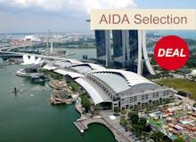 VARIO Exklusiv - AIDA Selection - AIDAvita - Von Dubai nach Singapur inkl. Flug