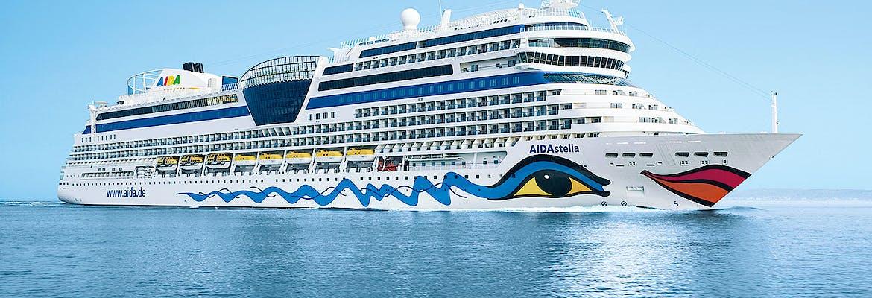 Sommer 2019 Besttarif: AIDAstella - Mediterrane Highlights inkl. Flug