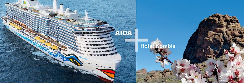 AIDA + Hotel-Kombis Kanaren - 7 Tage AIDAcosma + 3 Tage Lopesan Costa Meloneras