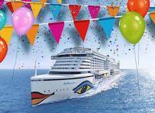 25 Jahre AIDA Geburtstagsreisen - Pauschal All Inclusive - AIDAperla - Kanarische Inseln