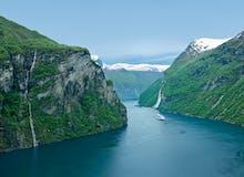 AIDA Sonderpreisangebot inkl. Überraschung - AIDAdiva - Norwegens Fjorde mit Geirangerfjord