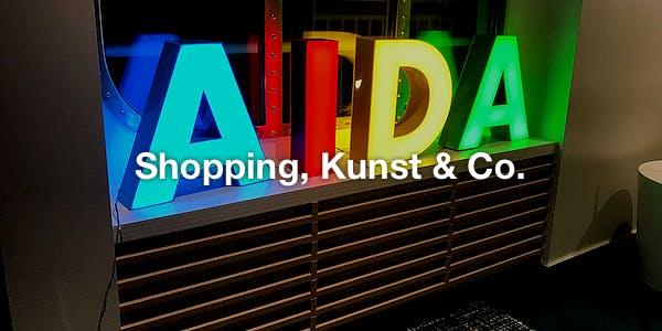 Shopping, Kunst & Co.