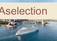 AIDA Selection - AIDAaura - Teilstrecken Weltreise 2020