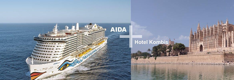 AIDA + Hotel Kombi Mittelmeer mit AIDAnova