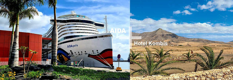 AIDA + Hotel-Kombi - 7 Tage AIDAperla + 7 Tage Lopesan Baobab Resort