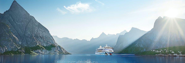 Sommer 2020 Besttarif: AIDA Selection - AIDAaura - Norwegens Fjorde mit Lofoten