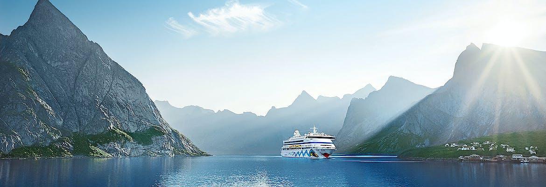 AIDAperla - Norwegens Küste