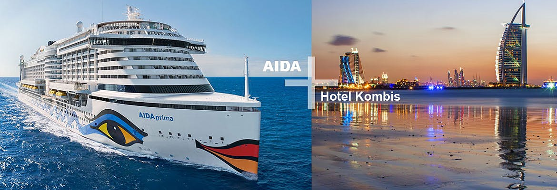 AIDA + Hotel Kombis Orient Winter 2019/20