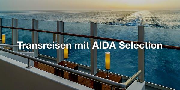 Transreisen mit AIDA Selection