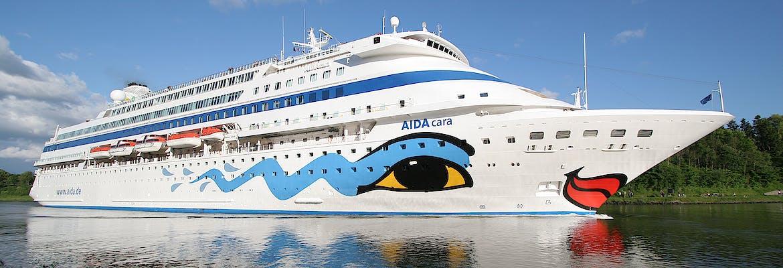 Transreisen 2021/22 Besttarif - AIDA Selection - AIDAcara - Von Kreta nach Dubai
