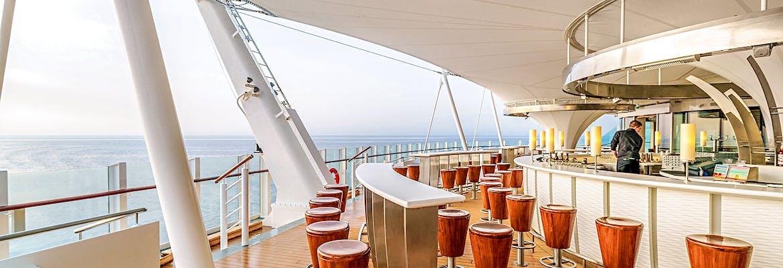 AIDA Traumstart um 12 Montag: AIDAprima - Von Kiel nach Mallorca