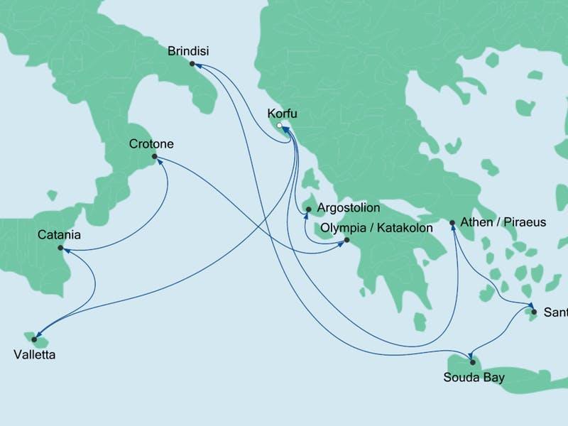 Griechenl.& Mittelmeerinseln 1