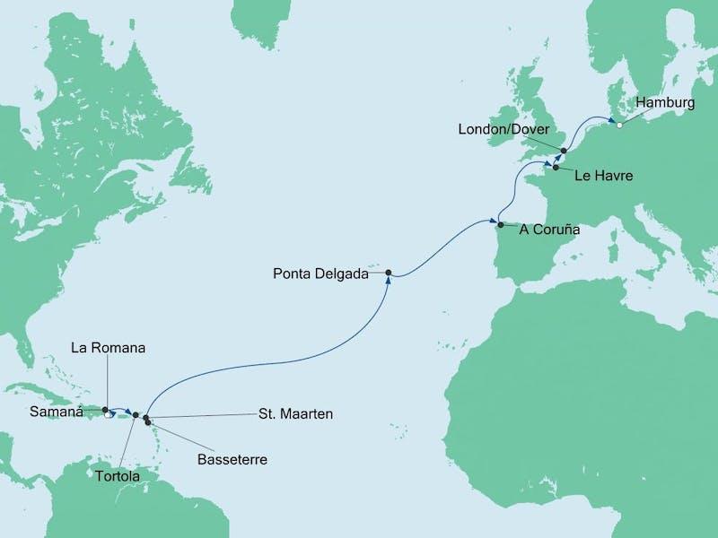 Von der Dominikanischen Republik nach Hamburg 4