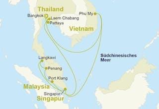 Südostasien & Thailand mit Hotel