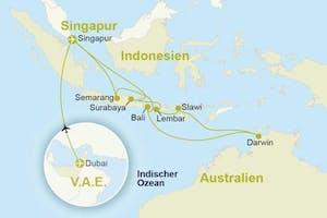 Australien & Indonesien mit Städtetrip