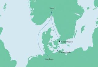 Kurzreise von Hamburg nach Warnemünde