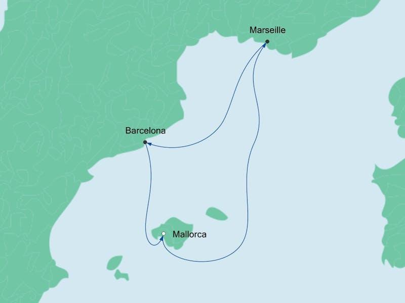 Kurzreise ab Mallorca
