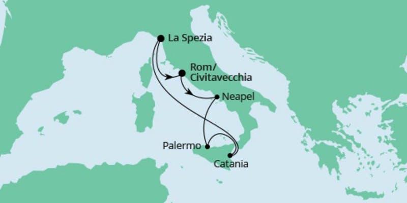 Bella Italia ab La Spezia