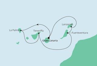 Kanarische Inseln ab Gran Canaria