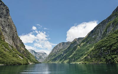 Nordeuropa mit Honningsvåg