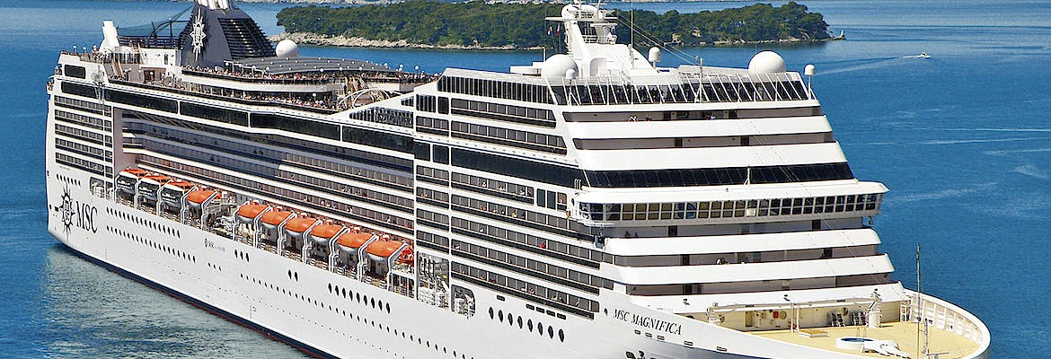 Sommer 2021 - MSC Magnifica - Westeuropa