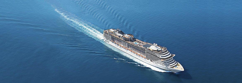 MSC Fantasia - Hotel-Kombi Westliches Mittelmeer & Mallorca inkl. Flug