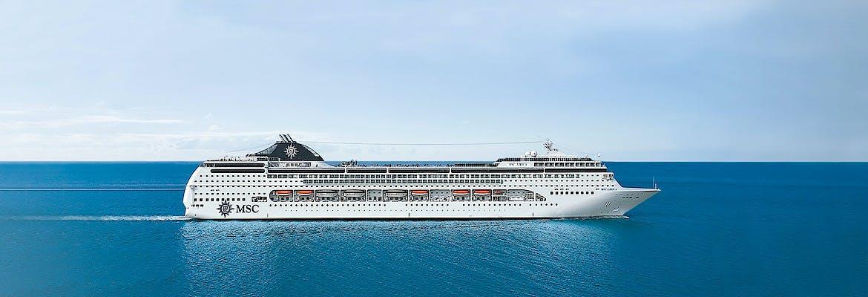 Kreuzfahrten mit MSC Lirica