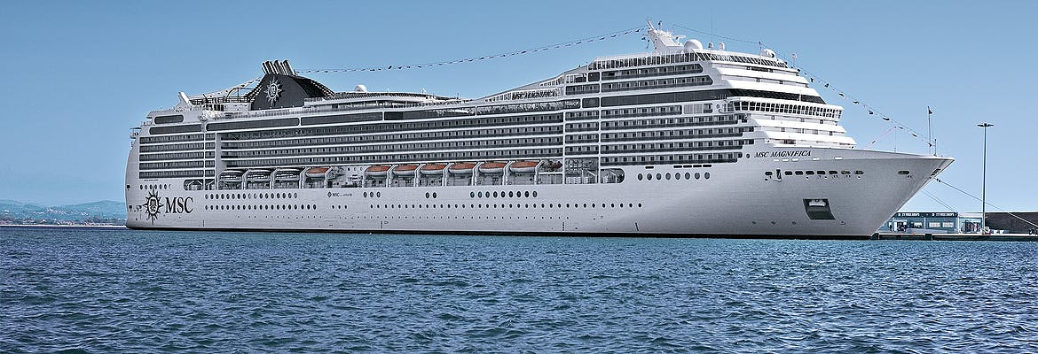 Sommer 2021 - MSC Magnifica - Norwegen ab Southampton